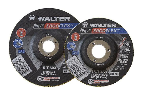 ErgoFlex abrasive discs