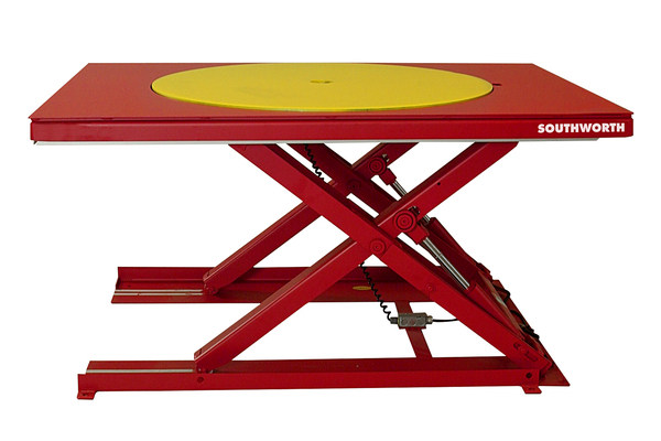 Low profile lift tables