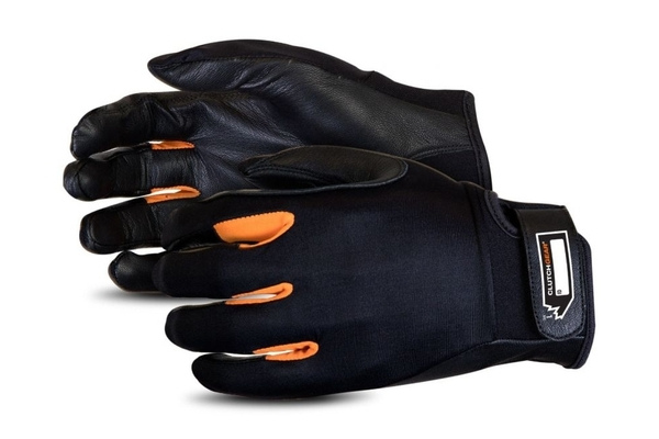 Slim cut-resistant mechanics glove