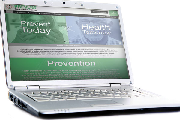 Occupational disease website