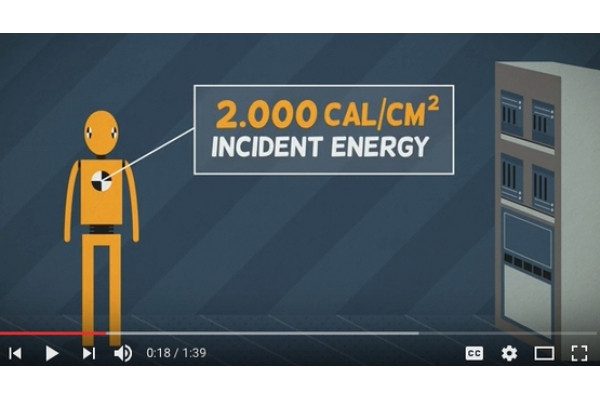 Shareable arc flash video