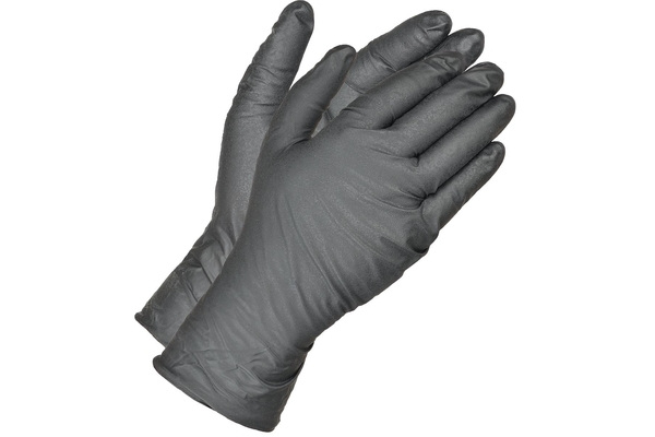 Absorbent-lined gloves