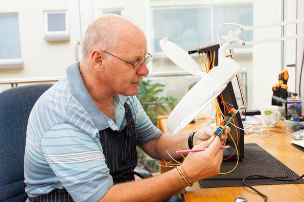 older electrician