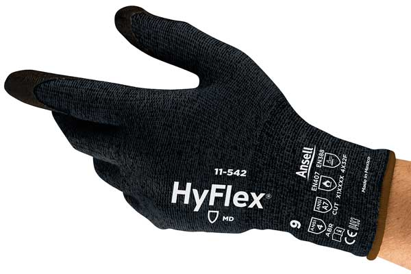 High cut protection glove