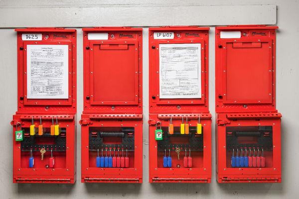 Master Lock Permit Control Station
