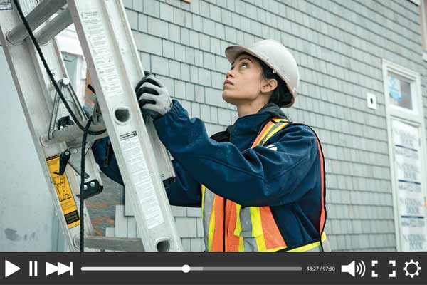 Ladder safety videos