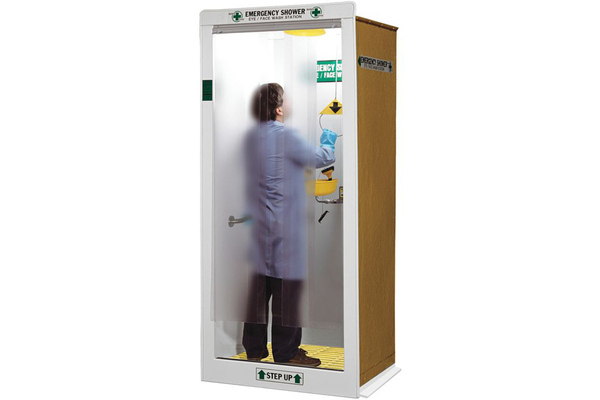 Decontamination booth