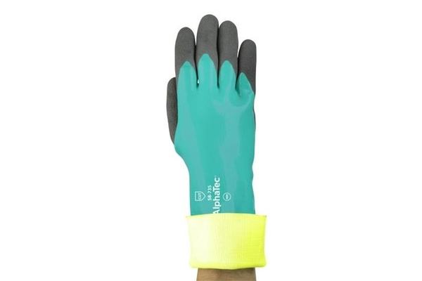 Chemical, cut protection glove