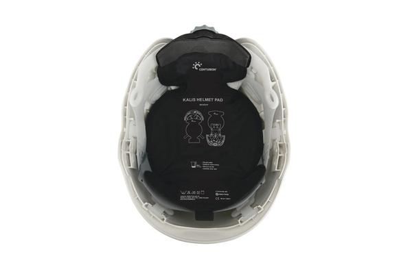 Dry cooling helmet pad