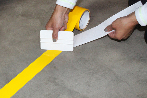 High-performance floor marking tape
