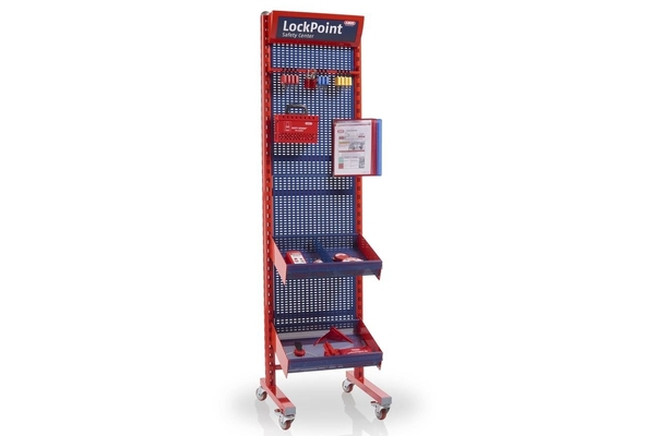 Mobile LOTO safety centre