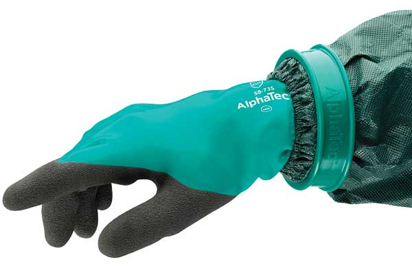 AlphaTec Glove Connector