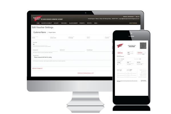 Online safety footwear program