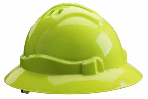 Full brim Serpent hard hat