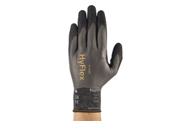 Ergonomic certified industrial gloves