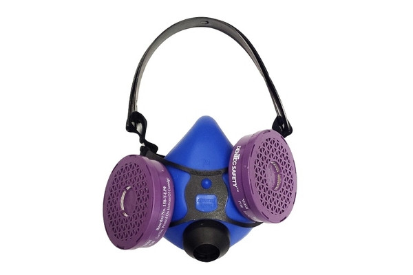 3-position cartridge respirator
