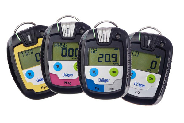Draeger single-gas monitors