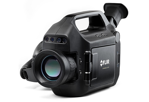 Intrinsically safe thermal camera